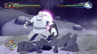 sasuke vs kinshiki ōtsutsuki full fight english dub  naruto shippuden storm 4 road to boruto movie