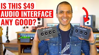 M-Audio M-Track Solo and Duo Review - BEST audio interface under $50!