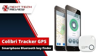 Colibri Tracker GPS Smartphone Bluetooth Key Finder  - NTR