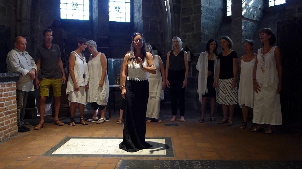 Pleiadès in Gent in de Cripte van de kerk