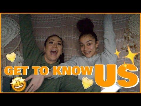 GET TO KNOW US TAG! | Tyler & Ashanti