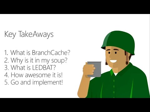 Dig deeply into BranchCache: Learning from the experts - BRK