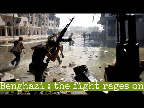 Libya : On the frontline as fighters battle IS