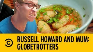 A Three Course Insect Feast   Russell Howard and Mum: GlobeTrotters