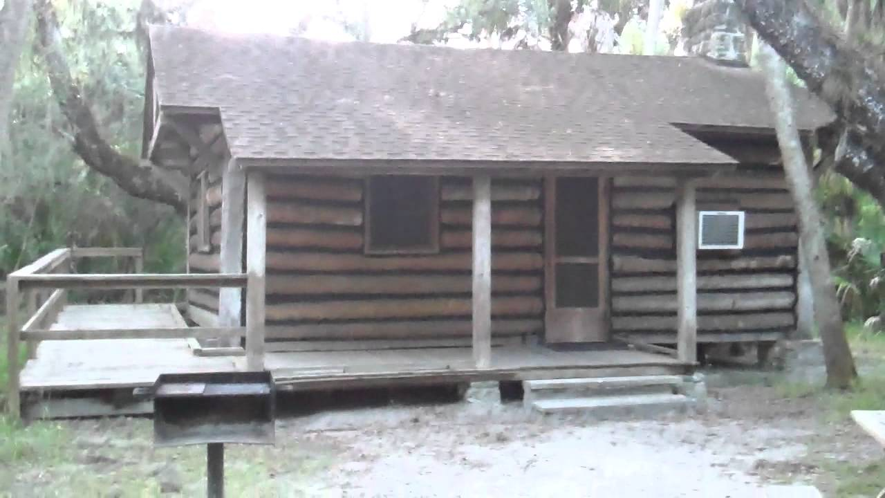 Tour Of One Of The Rental Cabins At Myakka River State Park.MP4