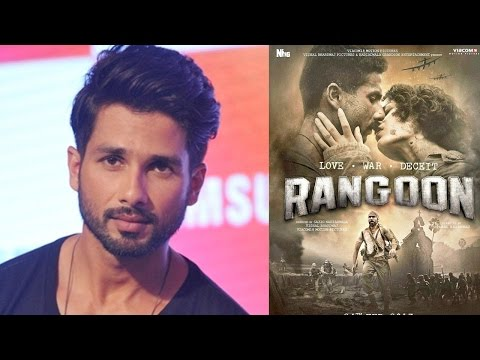 Shahid Kapoor CONFESSES How He Is Feeling About Rangoon Failure!