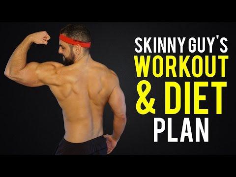 skinny guy workout diet plan