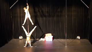 Third Place - Duo - Belgian Pole Dance Championship 2018