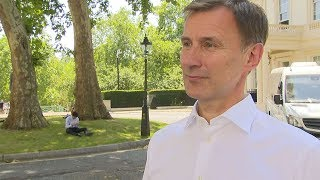 Jeremy Hunt Disappointed In Result But Also Delighted For Boris Johnson As PM