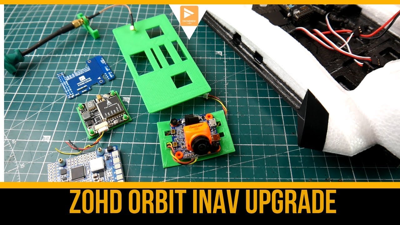 How To Build INAV Fixed Wing , RC Airplane // Long Range FPV Upgrade Part 1