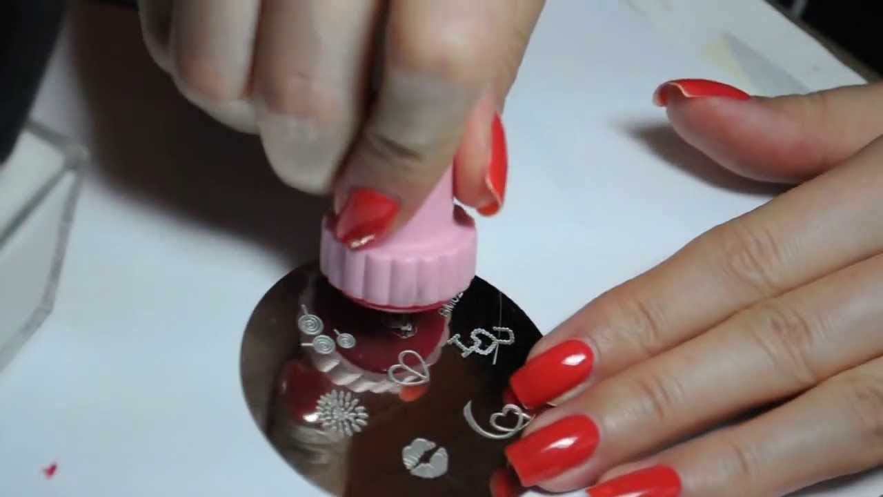 Nail stamping tutorial youtube prinsesfo Images