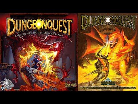 2-Настольная игра DungeonQuest. 3е Издание. Прохождение 1