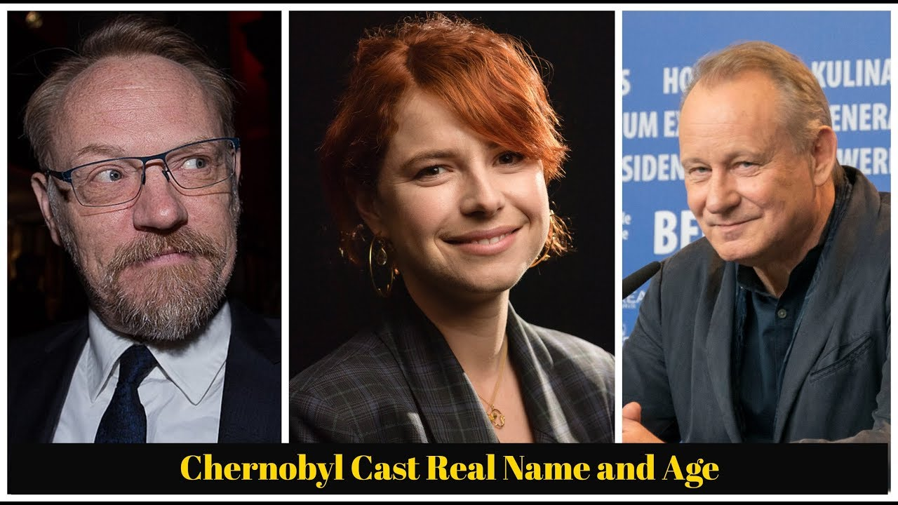 Chernobyl Cast Real Name and Age