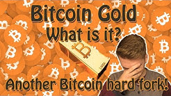 Bitcoin Gold (BTG) - What is it? Another Bitcoin hard fork coming up!
