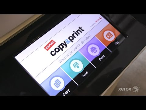 Xerox and Staples Partner to Deliver a Tool for the Mobile Worker