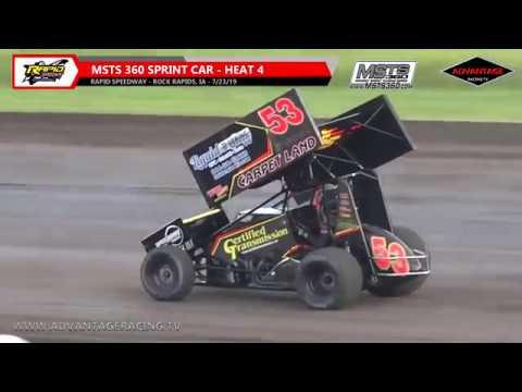MSTS 360 Sprint Heats - Rapid Speedway - 7/23/19