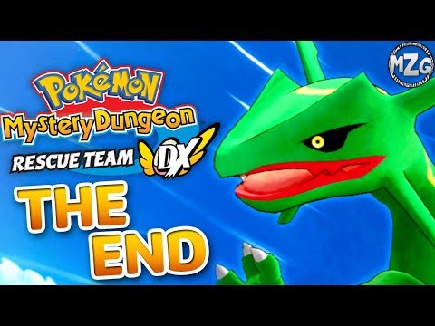 Pokemon Mystery Dungeon Rescue Team DX Gameplay Walkthrough Part 19 - The End!? Rayquaza Boss Fight!