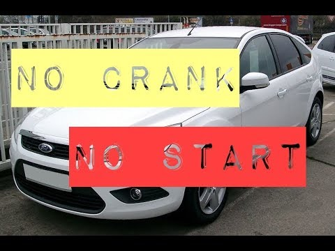 2005 Ford Focus Won T Crank Wont Start Issue One Click Fixed