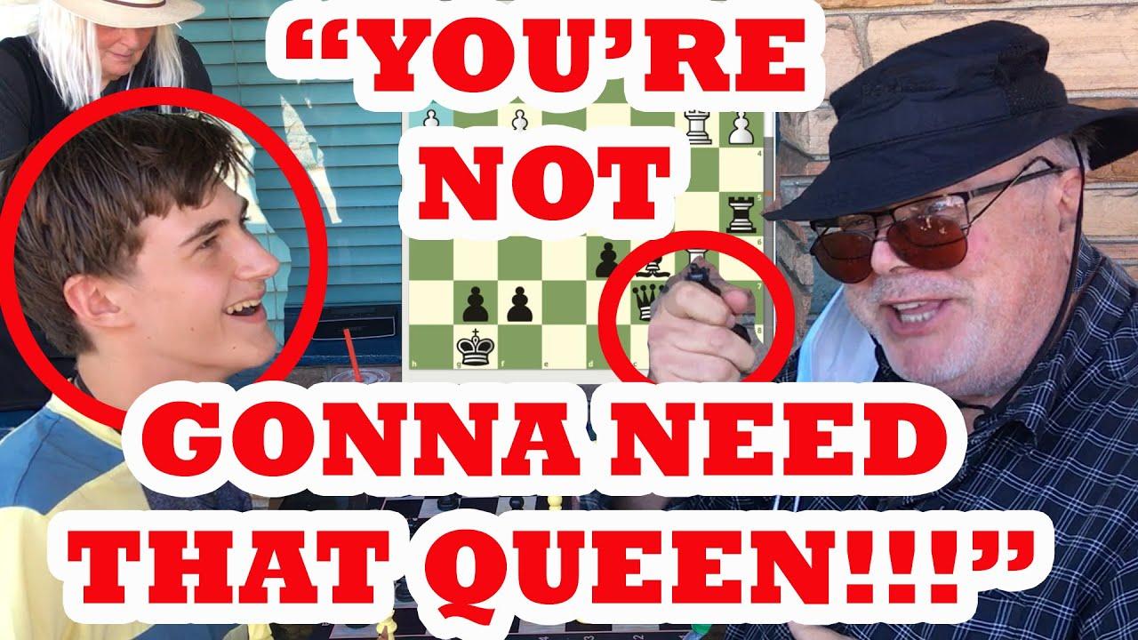 14 Year Old Hustling Chess Master Tortures Trash Talker! FM Nuking Nico vs The Great Carlini