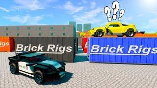 ОН ЧТО СЛЕПОЙ СПРЯТАЛСЯ В КОНТЕЙНЕРЕ ОТ ЛЕГО ПОЛИЦИИ ГОРОДСКАЯ МАСКИРОВКА В БРИК РИГС Brick rigs