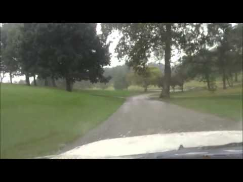 JTOG081 Driving into Glen Echo CC St. Louis, Host of 1904 Olympic Golf