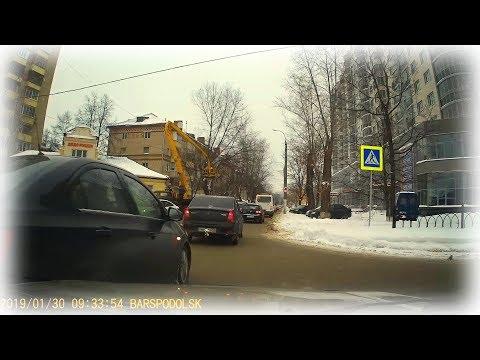 """ДТП💥🚕 с таксистом на кругу🔄 Типичная ошибка """"профессионала""""🦌"""