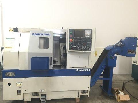 DAEWOO 150G CNC GANG LATHE W/FANUC TURNING CENTER