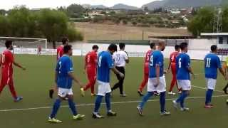 CD Alhaurino 1 - 4 CD Rincón (Primera Andaluza Senior - Temproada 2014/15)