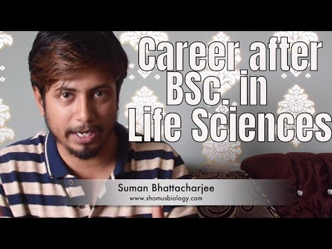 Career options after BSc. in life sciences | What to do after Bsc in biotechnology?