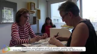 La Poste agence communale au quartier de la Morlande d'Avallon (89)