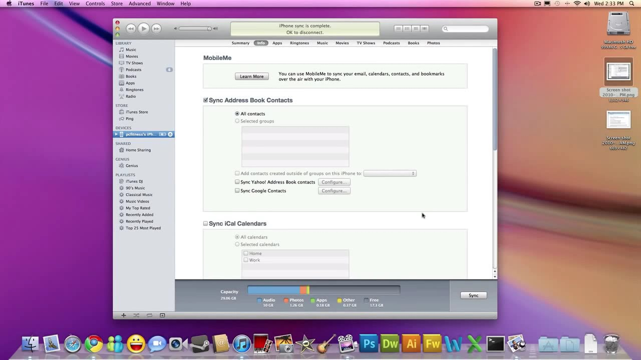 Transfer Contacts From Iphone To Macbook Pro