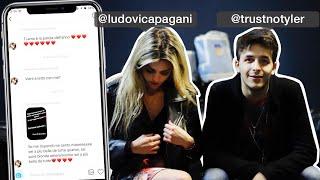 FLEXANDO SUL DIVANO con Ludovica Pagani