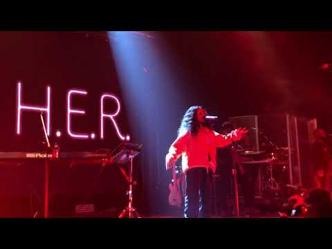 "H.E.R ""Could've Been"" live at Rams Head Live 11-17-18"