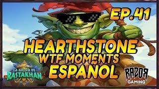 MEJORES MOMENTOS HEARTHSTONE ESPAÑOL | Episodio 41