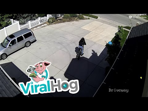 Maverick - Girl Steals Bike & Gets Instant Karma!!