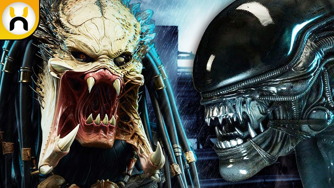 The Predator 2018 Will Reference Alien Vs Predator Youtube