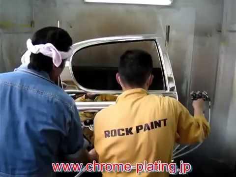 How to spray chrome, new revolutionary chrome plating system rear door