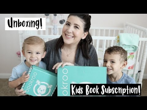 Book Roo Unboxing | Monthly Book Subscription Box For Kids!