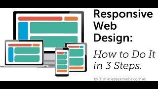 Responsive Web Design for Beginners - How to get started in 3 steps