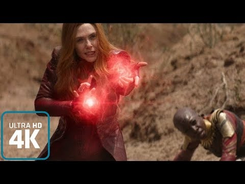 Scarlet Witch: All Powers From The Films