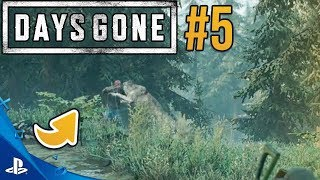 ZOMBIE vs WILK, KTO WYGRA? DAYS GONE #5