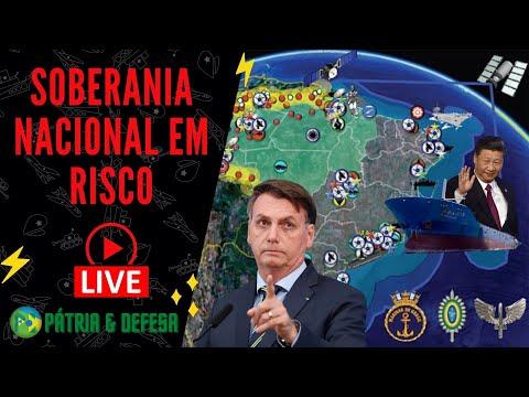 Soberania Brasileira Em Xeque - Querem Nosso Mar, Nossas Terras e Riquezas