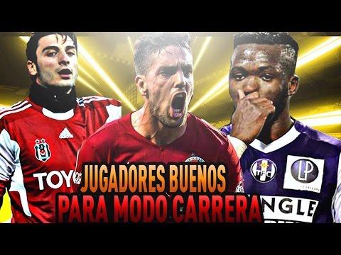 Jugadores Muy Buenos Para Modo Carrera FIFA 17/18. Jugadorazos Sin Entrenamientos