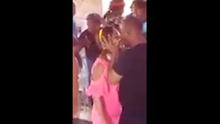 SMH: Pastor Gives A Girl A Very Long Kiss To Get The DEMONS Out Of Her!