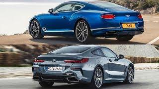 2019 BMW 8 Series M850i Vs 2018 Bentley Continental GT