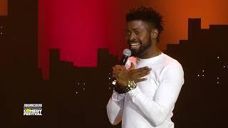 Basketmouth Nigeria - Chanel Bag - Johannesburg International Comedy Festival 2017