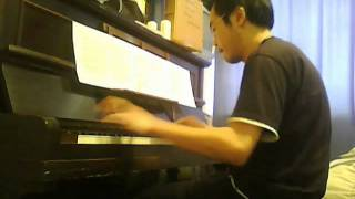 2001 A Space Odyssey Theme - Piano cover by Alfred Tong amateur pianist