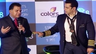 Salman Khan STOPS Bigg Boss 8 LAUNCH for Azaan