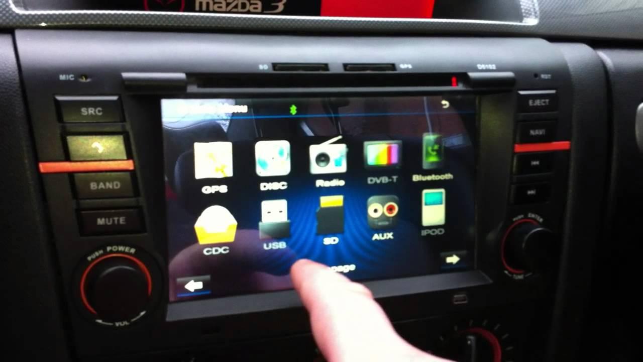 Mazda Speed 3 >> Eonon D5102 Head Unit for the Mazda 3 Review - YouTube