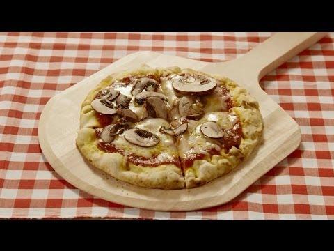 How to Make Grilled Pita Pizzas | Pizza Recipes | Allrecipes.com